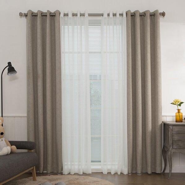 Curtain with valance
