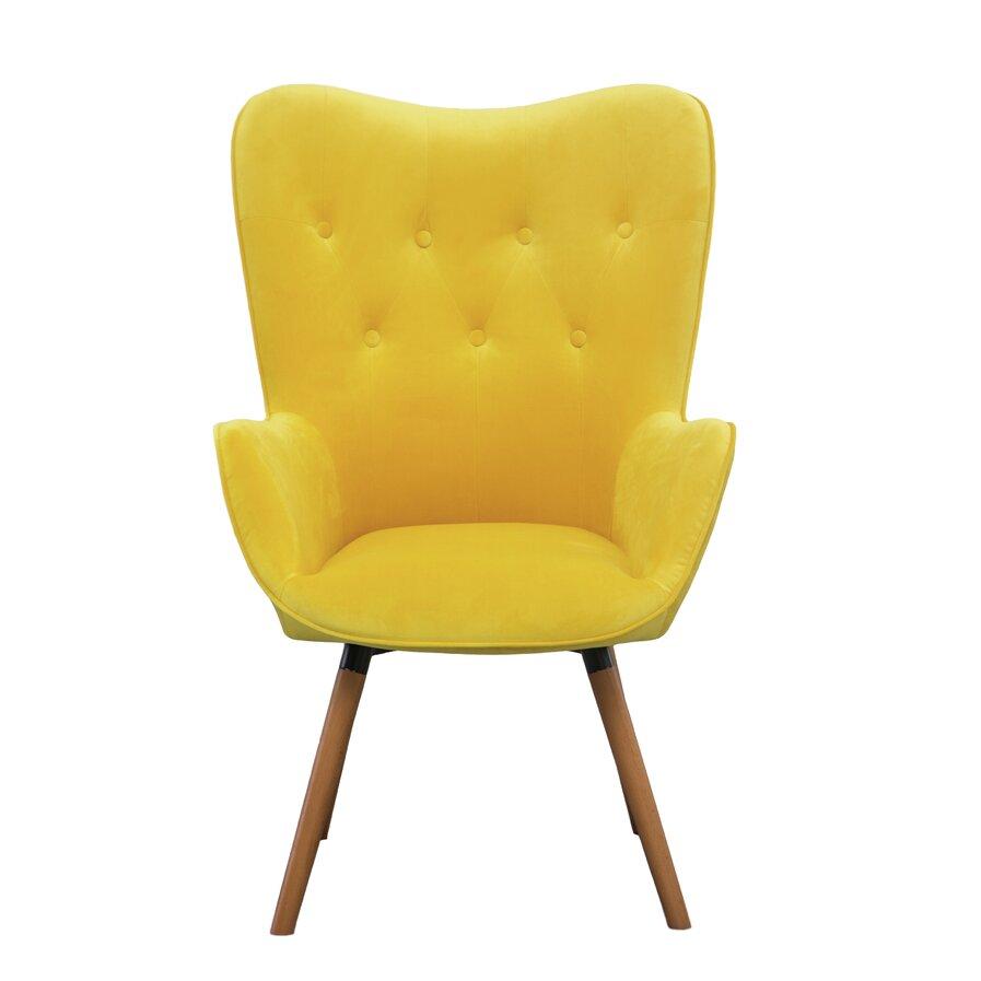 Yellow modern chair