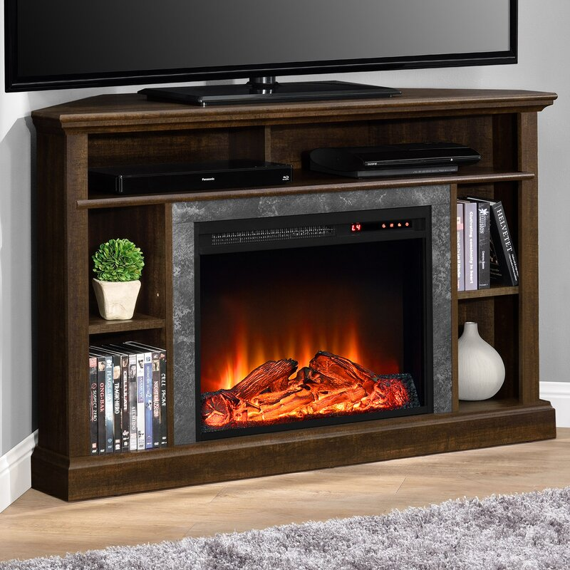 delaney 48 tv stand with fireplace  74839