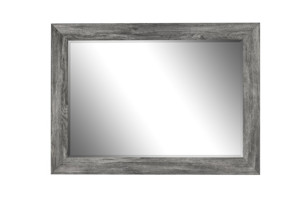 Grey Framed Mirrors  William Wood Mirrors  Free Delivery
