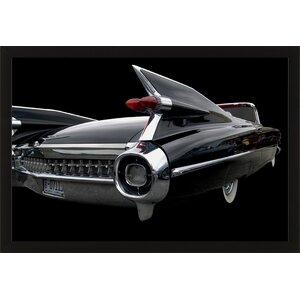 Trends 1959 Cadillac Framed Photographic Print by Ashton Wall Décor LLC