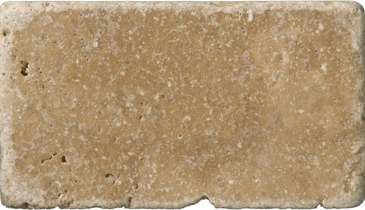 Emser tile travertine 3 x 6 subway tile in vino tumbled noce travertine 3 x 6 subway tile in vino tumbled noce dailygadgetfo Image collections
