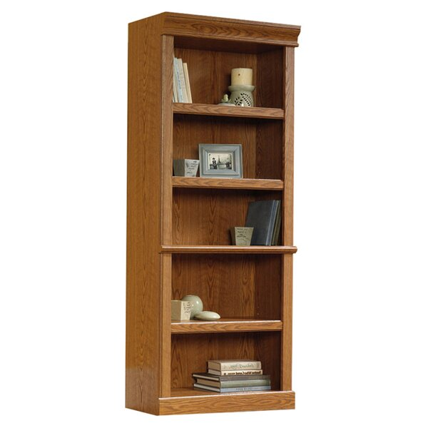 oak bookcases youll love wayfair - Wood Bookshelves