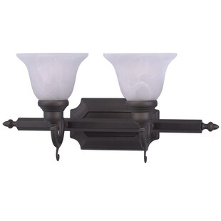 Find Christiansburg Traditional 2-Light Vanity Light By Red Barrel Studio