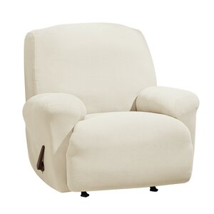 Stretch Morgan T-Cushion Recliner Slipcover