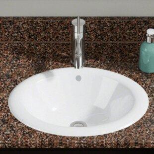 Find Vitreous China Oval Vessel Bathroom Sink ByPolaris Sinks