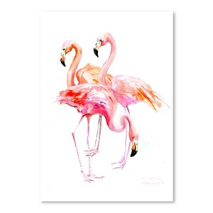 Flamingo Painting by Bay Isle Home