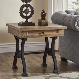 Affordable Price Luevano Antique End Table By Gracie Oaks