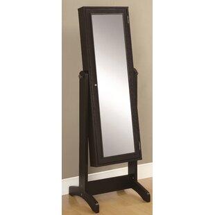 Merveilleux Cappuccino Jewelry Storage Mirror