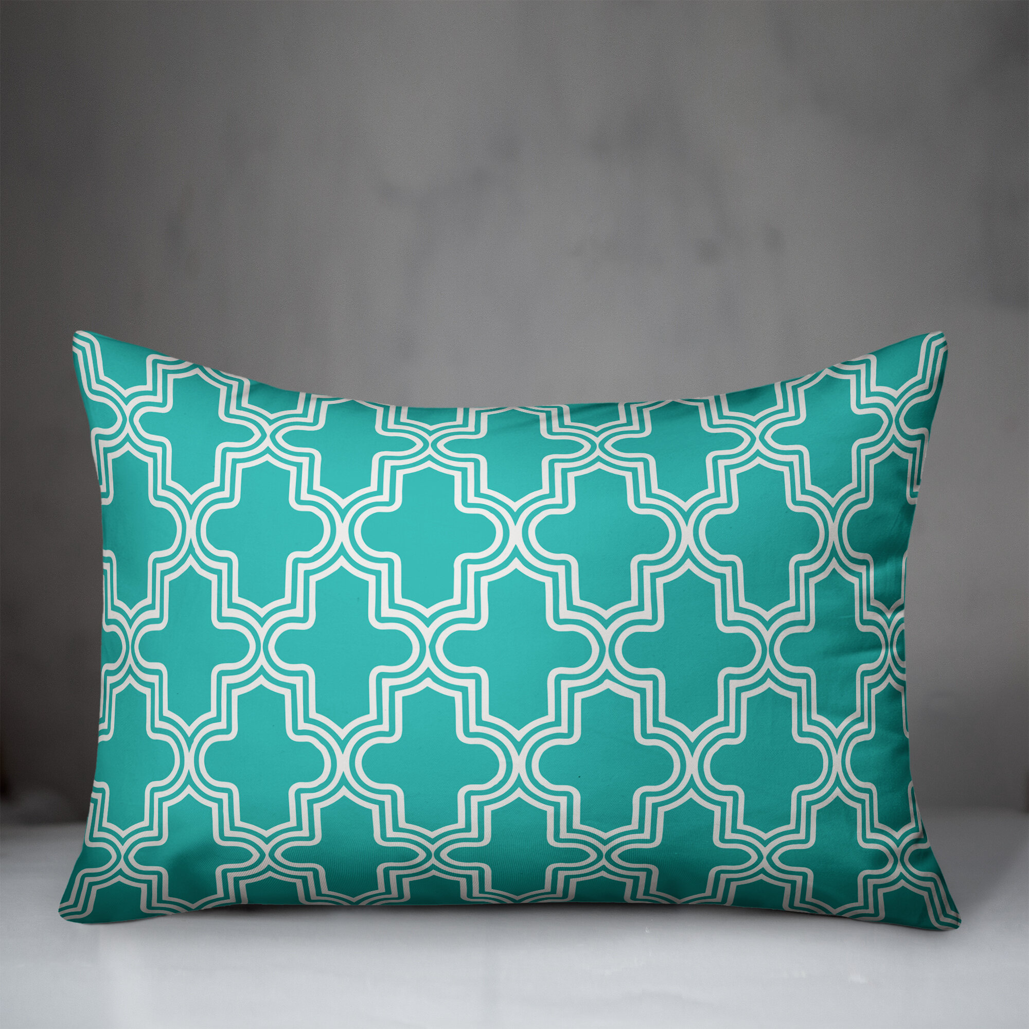 Charlton Home Zed Boho Quatrefoil Indoor Outdoor Throw Pillow Wayfair