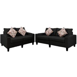Chuy 2 Piece Living Room Set by Latitude Run®