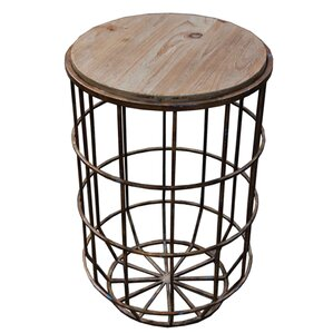 Koji Metal Round Table by Sagebrook Home