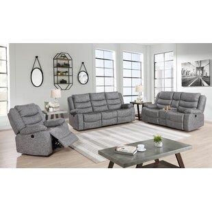 Ampelius Reclining Configurable Living Room Set by Red Barrel Studio®