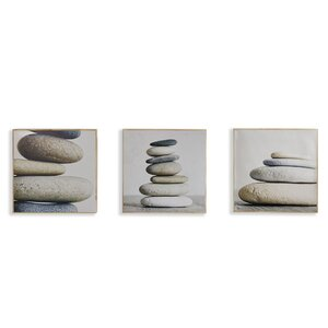 'Timeless' 3 Piece Framed Photographic Print on Canvas Set by Arthouse