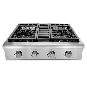 Professional 30 Gas Cooktop with 4 Burners