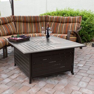 Great choice Stainless Steel Propane Fire Pit Table By AZ Patio Heaters