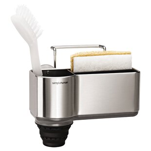 Sink Caddy Organizer Brushed Stainless Steel