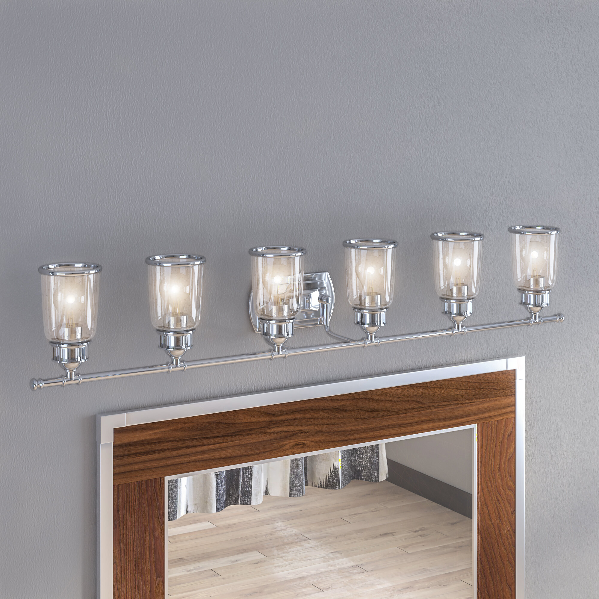 17 stories laurenza bath 6 light vanity light reviews wayfair ca