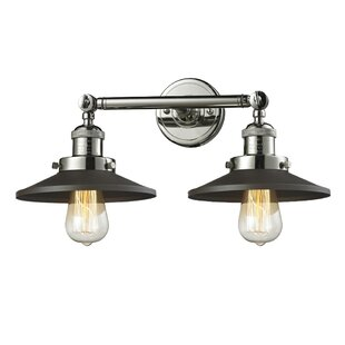 Deals Ame 2-Light Bath Sconce By17 Stories