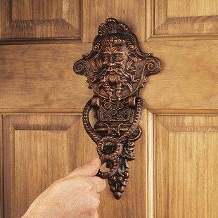 Winthrop Manor Greenman Door Knocker & Door Knockers Youu0027ll Love | Wayfair