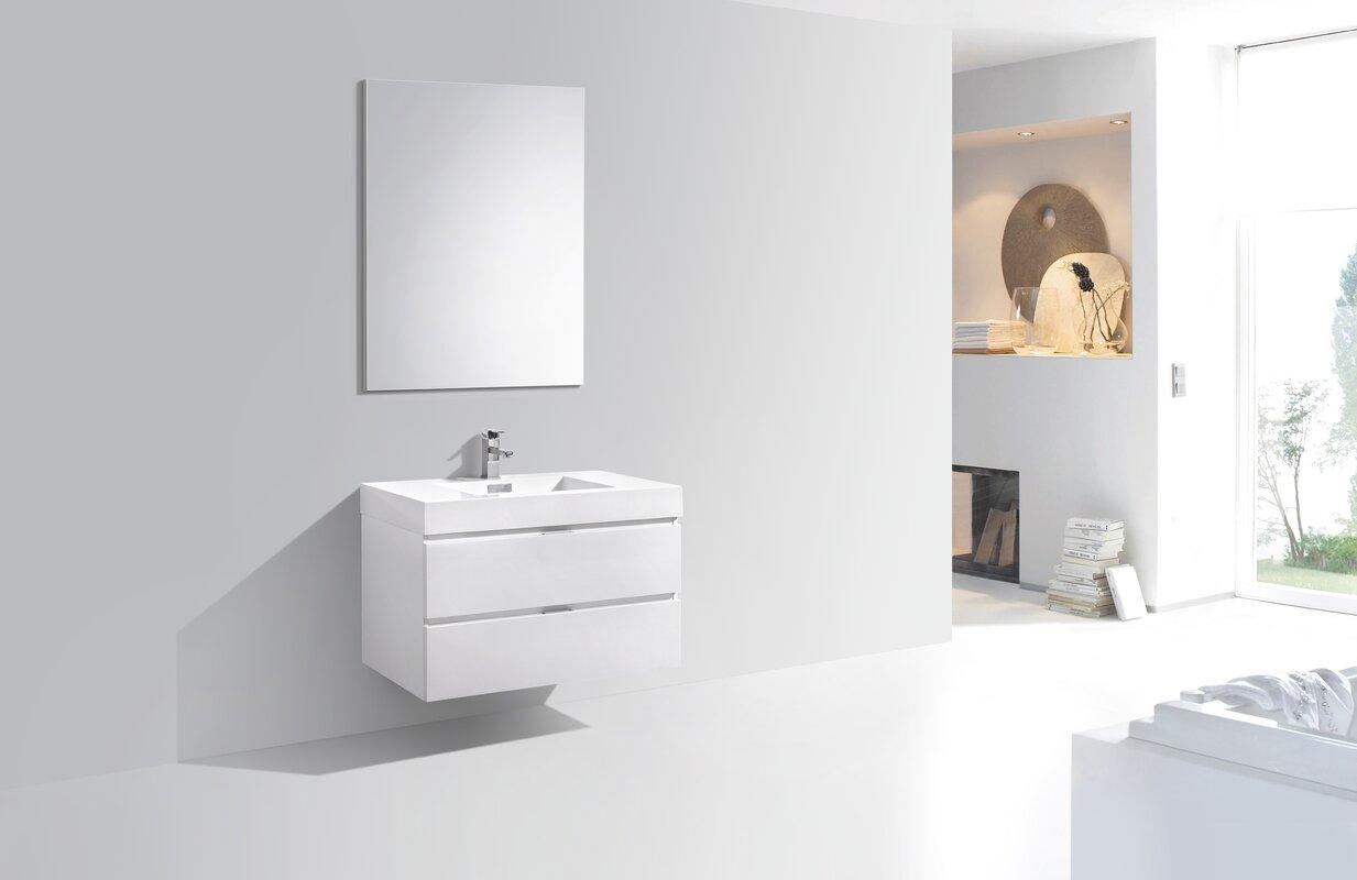 Wade Logan Tenafly 36 Quot Single Wall Mount Modern Bathroom