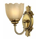 Types and styles of wall sconces guide wayfair popular elements of traditional sconces are tiffany shades and crystals which reflect light in their own unique beautiful ways aloadofball Images