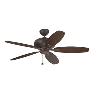Price Check 60 Hale 5 Blade Ceiling Fan By Charlton Home