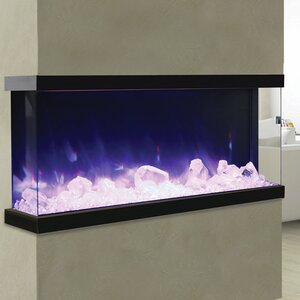 3 Sided Built-in Wall Mount Electric Fireplace