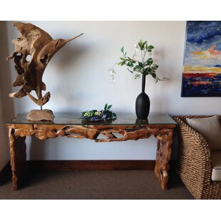 Parkwoods Root Console Table by Bloomsbury Market