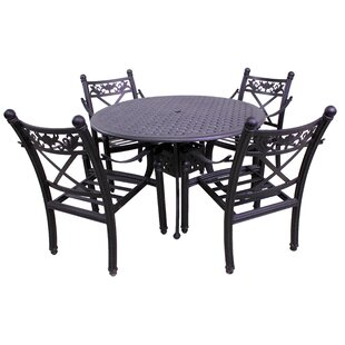 Baldwin 5 Piece Dining Set By California Outdoor Designs