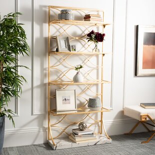 Evalyn Etagere Bookcase