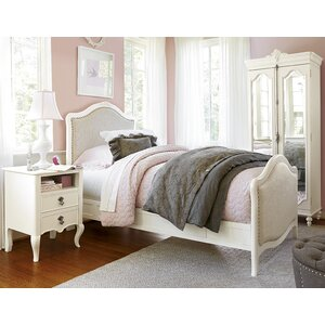 Chassidy Panel Headboard in French Linen