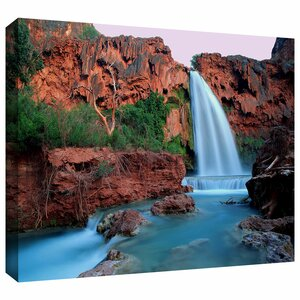 'Havasu Falls Dusk' Photographic Print on Wrapped Canvas by Winston Porter