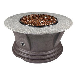 Havana III Resin Propane Fire Pit Table