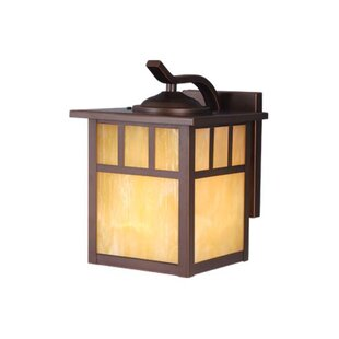Where buy  Joelle 1-Light 60W Outdoor Wall Lantern By Loon Peak