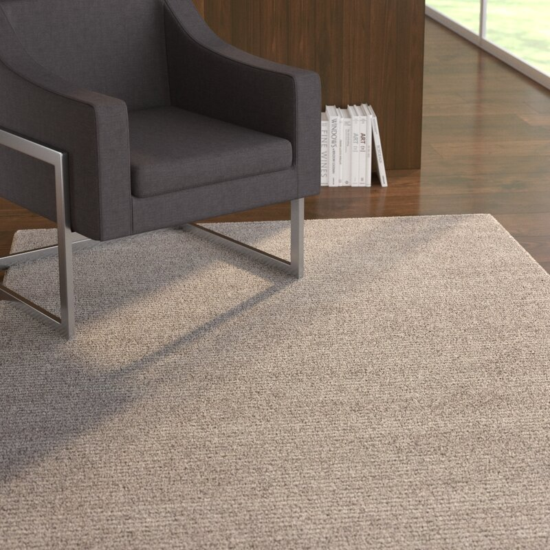 Melbourne Hand Woven Gray Area Rug