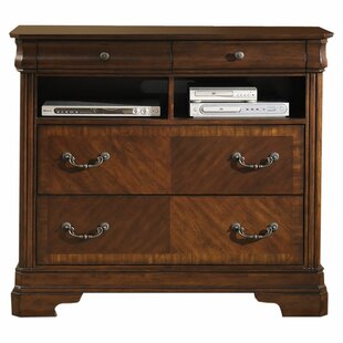 Abe 4 Drawer Media Chest Darby Home Co