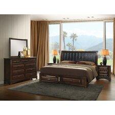 Broval Platform 5 Piece Bedroom Set by Roundhill Furniture