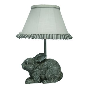 Bunny rabbit table lamps wayfair garden bunny 13 table lamp aloadofball Image collections