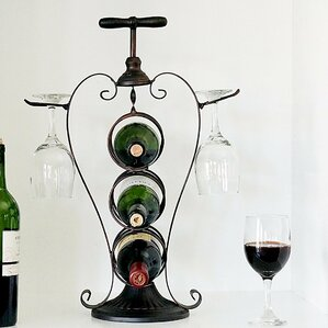 3 Bottle Tabletop Wine Rack by Welland LLC