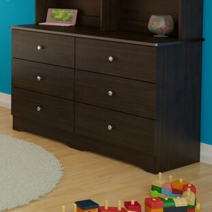 Great choice Baillie 6 Drawer Double Dresser ByHarriet Bee