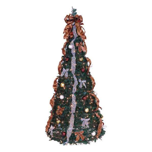 Artificial Christmas Tree Warehouse: The Holiday Aisle Pop Up 6' Green Artificial Christmas