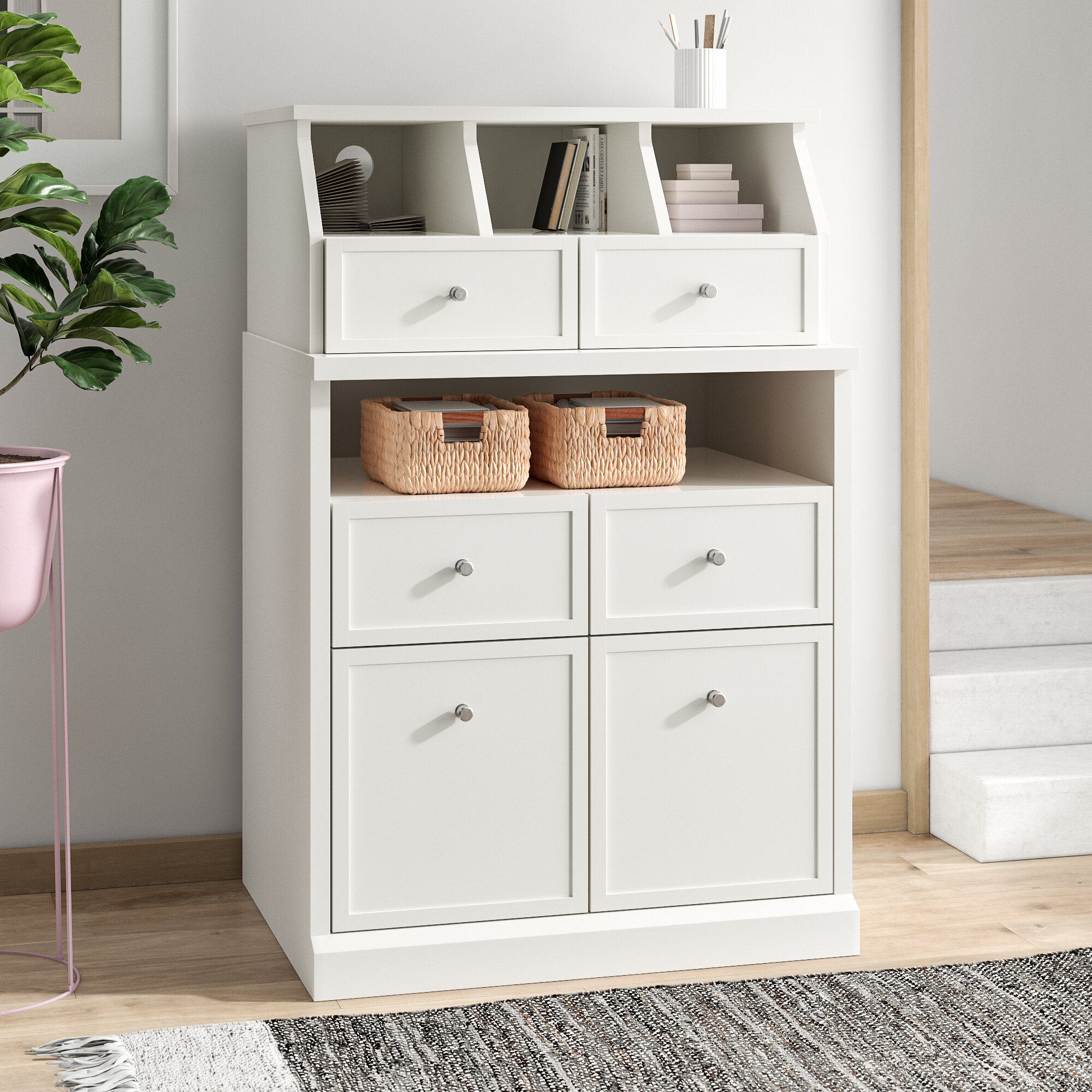 Dotted Line Bambi 32 13 X 17 5 Crafting Storage Cabinet Reviews Wayfair