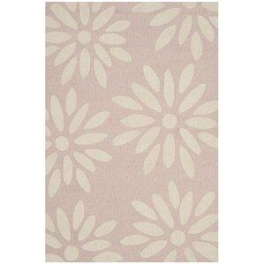 claro daisy handtufted pinkivory area rug