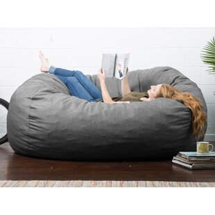 e1818838fcd8 Extra Large Grey Bean Bag Chairs You ll Love
