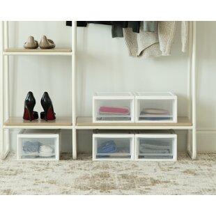 Find 8.5 W Stackable Storage Drawer (Set of 4) ByIRIS USA, Inc.