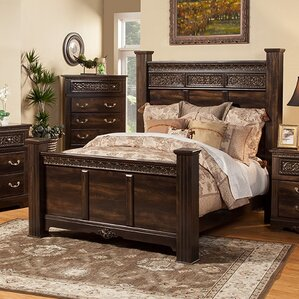 Boyers Solid Wood Panel Configurable Bedroom Set