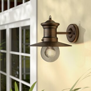 Order Grays 1-Light Outdoor Barn Light By Beachcrest Home