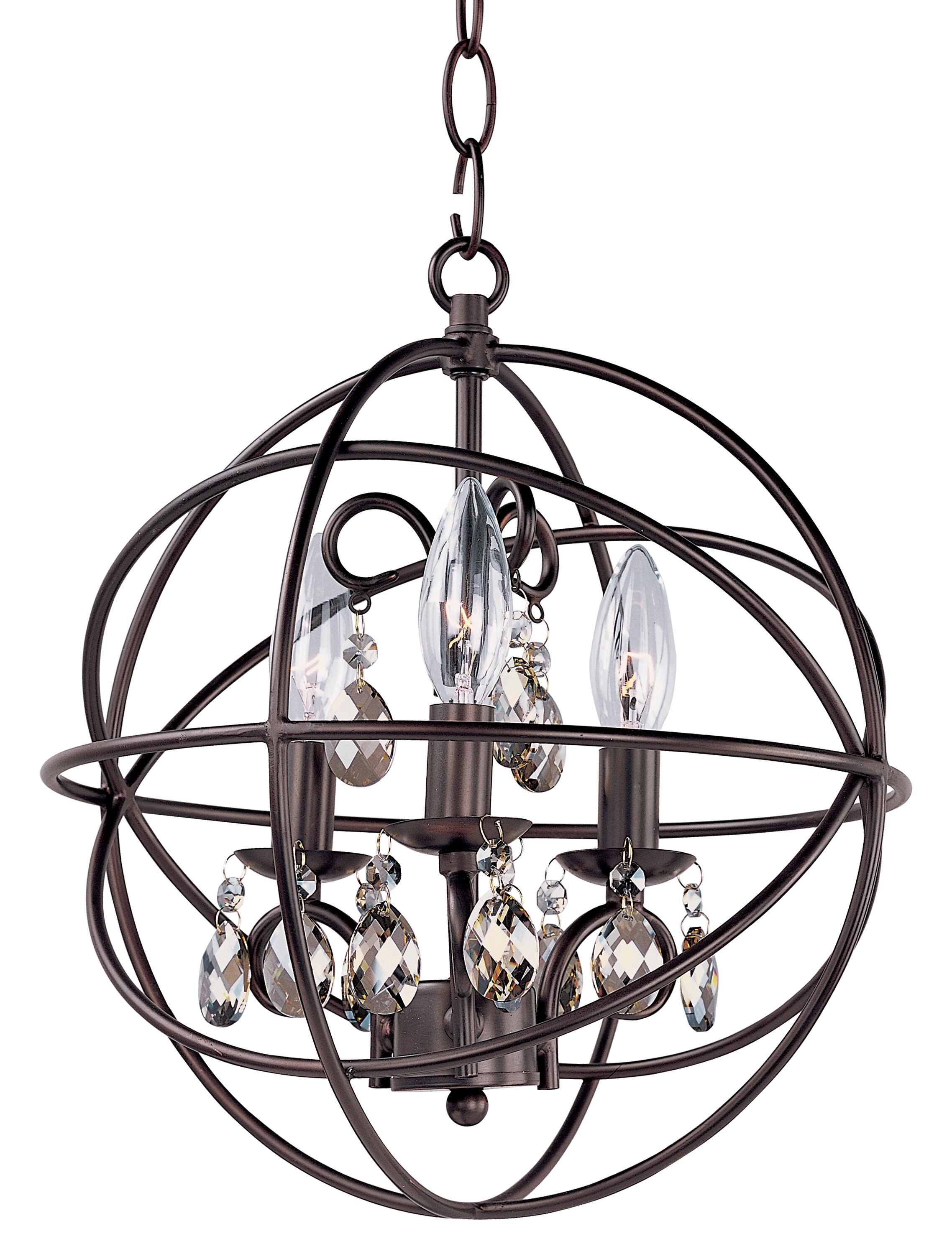 Willa Arlo Interiors Alden 3 Light Candle Style Chandelier