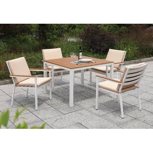 Lacey 5 Piece Dining Set By Rosecliff Heights